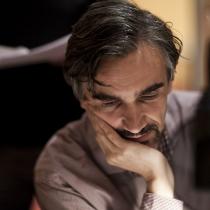 """V audio dramatizaci povídky """"Věc na prahu"""" mu byl partnerem Martin Myšička."""
