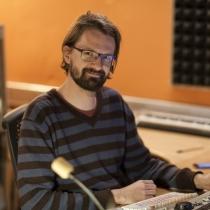Ve chvíli odpočinku jsme zastihli i skladatele, Ladislava Železného.